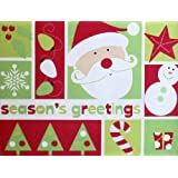 Mohawk Seasons Greetings Outdoor Holiday Christmas Doormat Rug