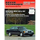 Rta 727.1 : Mercedes Benz 200 a 300, serie W 124 : moteurs 4 et 6 cyclindres essence. 4-5-6 cylindres Diesel -...