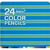 スライド缶入り色鉛筆24色 PLM01