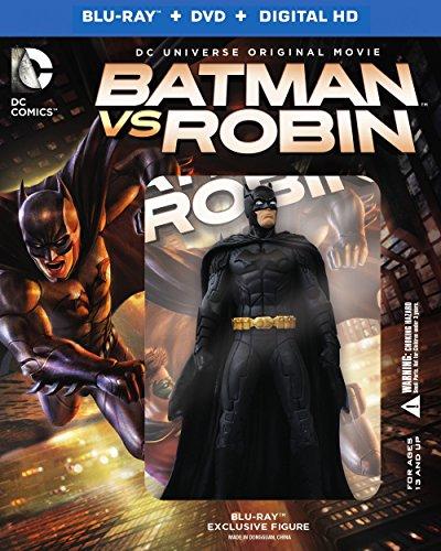 Batman vs. Robin (Blu-ray + DVD + Digital HD UltraViolet Combo Pack) at Gotham City Store
