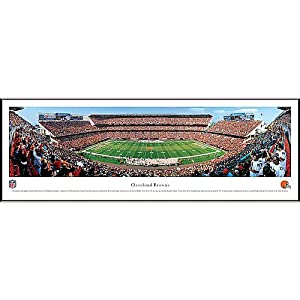 NFL Cleveland Browns Framed Panoramic Stadium Photo by Blakeway Worldwide Panoramas