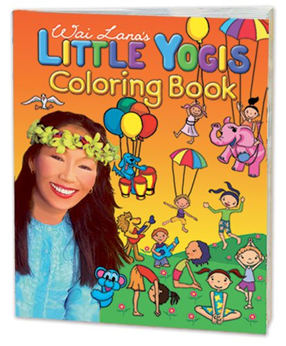 Wai Lana's Little Yogis: Little Yogis Coloring Book