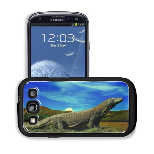 Komodo Dragons Ancient Outdoor Animal Samsung I9300 Galaxy S3 Snap Cover Premium Aluminium Design Back Plate Case Customized Made To Order Support Ready 5 3/8 Inch (136Mm) X 2 7/8 Inch (73Mm) X 7/16 Inch (11Mm) Msd Galaxy_S3 Professional Metal Cases Touch