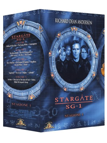 Stargate SG-1 Stagione 01 Volume 01-05 [5 DVDs] [IT Import]