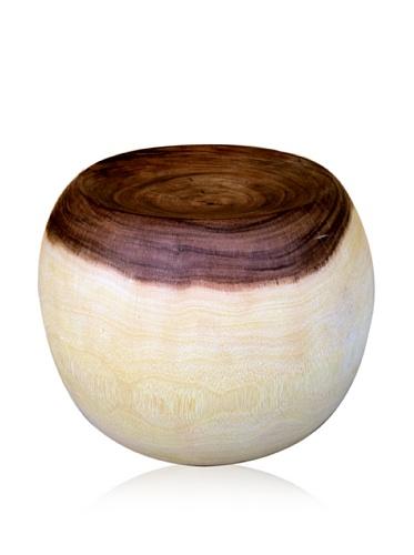 Asian Art Imports Acacia Wood Ethel Stool