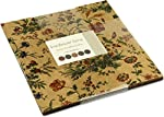 """Sunflower Song Layer Cake, 42 - 10"""" Precut Fabric Quilt Squares By Kansas Troubles Quilters for Moda"""