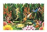 York Wallcoverings Disney Kids DK5896BD Fairies & Lily Pads Border, Multiple