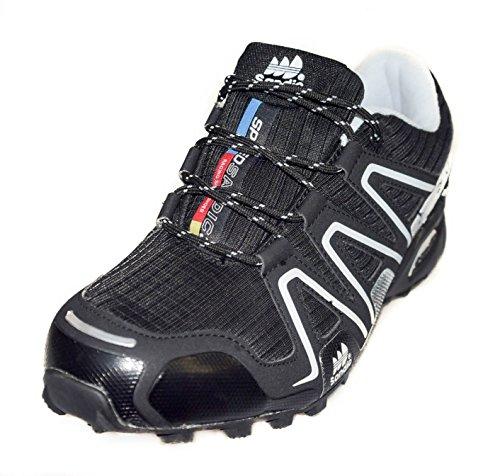 BTS, Scarpe da Trail Running uomo, Multicolore (nero/bianco), 45