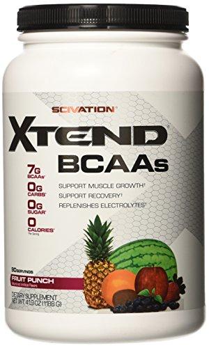 Scivation, Xtend BCAAs, Fruit Punch, 90 Servings