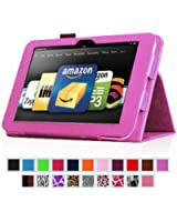 """Fintie Kindle Fire HD 8.9"""" Slim Fit Leather Case with Auto Sleep/Wake for Amazon Kindle Fire HD 8.9 (will not fit HDX models) - Violet"""