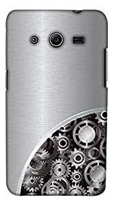 Print Haat Back Case Cover for Samsung Galaxy Core 2 (Multicolor)