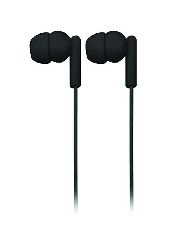 NAXA Electronics NE-938WH Spark Isolation Stereo Earphones, 3.5mm Stereo Plug, Compatible with Smartphones, Tablets, MP3 Players, Black