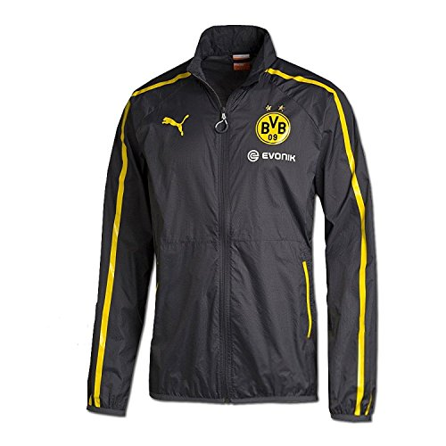 Puma Borussia Dortmund Walk Out Jacket/サッカー トレーニングジャケット ボルシア・ドルトムント (XL)