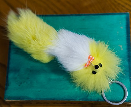 3-for-2-new-yellow-white-colours-big-20cm-designer-fur-keyring-charm-cute-animal-unique-gift-cute-ch