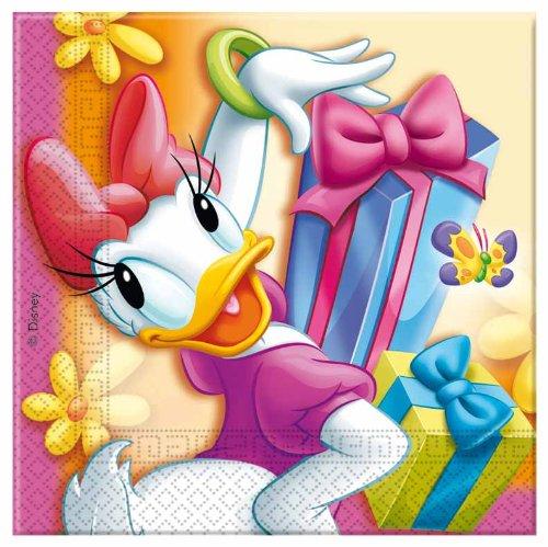 Daisy Duck Party-Tovaglioli di carta, confezione da 20
