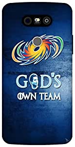The Racoon Grip God's Own Team hard plastic printed back case / cover for LG G5