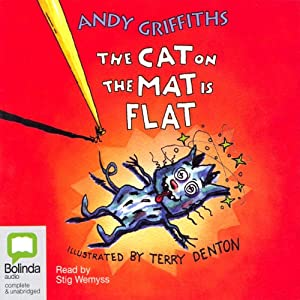 The Cat on the Mat is Flat | [Andy Griffiths, Terry Denton]