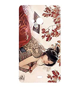 Casesncovers High Quality Fashion Designer Fancy Protective Bumper Hard Back Cover Case For Microsoft Nokia Lumia 535
