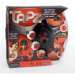Radica Tapz Electronic Reflex Memory Music Game 5 Different Games