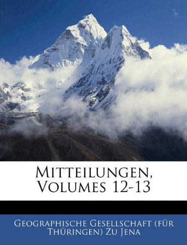 Mitteilungen, Volumes 12-13