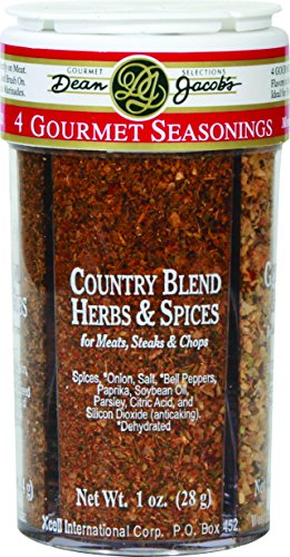 4 Gourmet Seasonings ~ 4in1 Compartment Jar (Dessert And Baking Salts Gift Set compare prices)