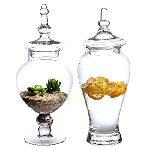 Decorative Fruit In Glass Jars