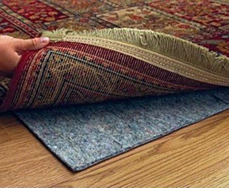 Durable, Reversible 6' X 9' Premium Movenot Rug Pad(TM) for Hard Surfaces and Carpet