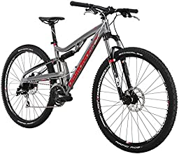 Diamondback Bicycles 2015 Recoil Full Suspension Complete Mountain Bike, 16-Inch/Small, Silver