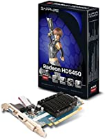 Sapphire 11166-02-20R HD 5450 1GB DDR3 PCIE HDMI Graphics Card