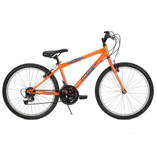 Huffy 24-Inch 15-Speed Boys Granite Bike (Outrageous Orange)