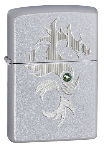 Zippo Dragon Pocket Lighter with Crystalized Swarovski Elements