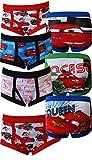 Cars Lightning McQueen/ Francesco Bernoulli 7 Pack Boys Briefs for boys
