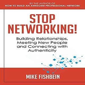 Stop Networking! Audiobook