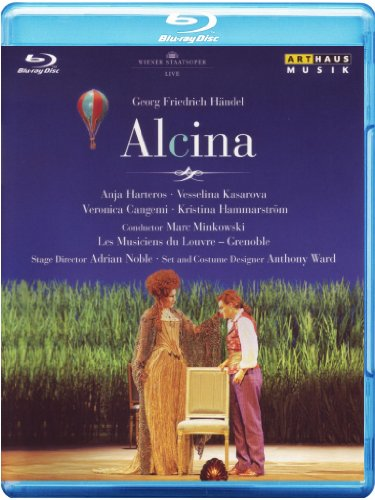 Cover art for  Handel: Alcina (Wiener Staatsoper Live) [Blu-ray]