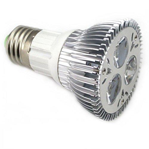 Sunsbell Energy Saving 3*3W PAR20 LED Bulb Spotlight Flood E27 Base Cool White 6000K 100v-245v - 1