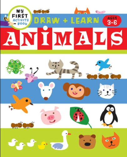 Draw + Color Fun: Animals (My First Activity Books)