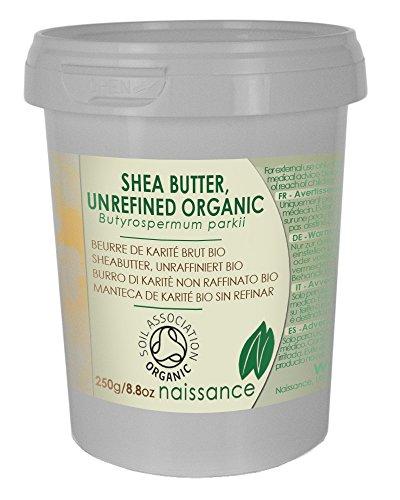 Bio Sheabutter, unraffiniert - 100% rein - Organisch zertifiziert - 250g thumbnail