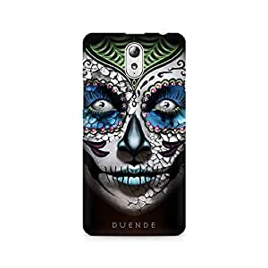 Mobicture Girl Art Premium Printed Case For Lenovo Vibe P1M