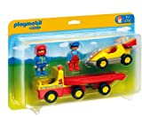 Playmobil - 6761 Racing Car with Transporter