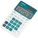 カシオ カラフル電卓 手帳タイプ 8桁 SL-300B-BU-N レイクブルー
