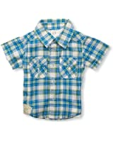 Pumpkin Patch Baby Boy's Check With Mock T-Shirt