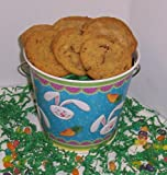 Scott's Cakes Cookie Combos - Peanut Butter and Pecan 1lb. Blue Bunny Pail