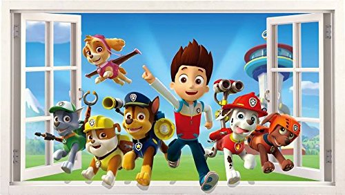 paw-patrol-sticker-mural-fenetre-frame-3d-chambre-garcon-fille-taille-l
