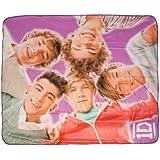 "One Direction Full Band Micro Plush Throw Blanket ""Huddle"""
