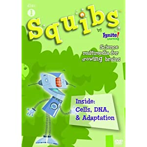 Squibs Disc 1 - Inside:  Cells, DNA, & Adaption movie