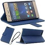 F.G.S HUAWEI P8 lite Huawei LUMIERE 503HW ケース ブルー