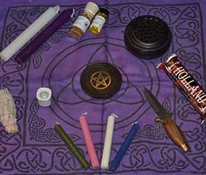 Beginner Wicca Altar Set