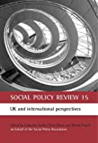 img - for Social Policy Review 15: UK and international perspectives (No.15) book / textbook / text book