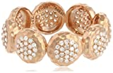 "Phillips Frankel ""Affair"" Rose Gold and Diamond Disc Ring"
