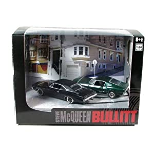 1968 Ford Mustang 390 1968 Dodge Charger Bullitt Set 1/64: Amazon.ca